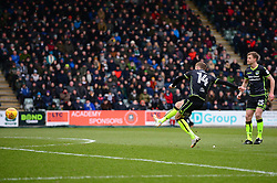 Chris Lines of Bristol Rovers scores the opening goal to make it 1-0 - Mandatory by-line: Dougie Allward/JMP - 17/03/2018 - FOOTBALL - Home Park - Plymouth, England - Plymouth Argyle v Bristol Rovers - Sky Bet League One