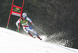 JANKA Carlo of Switzerland competes during 10th Men's Slalom - Pokal Vitranc 2014 of FIS Alpine Ski World Cup 2013/2014, on March 8, 2014 in Vitranc, Kranjska Gora, Slovenia. Photo by Matic Klansek Velej / Sportida