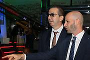 Walter De Raffaele e Edi Dembinski, Presentazione POSTEMOBILE Final Eight 2017 - Rimini 16-19 fabbraio 2017 - studi RAI, Milano 23 gennaio 2017