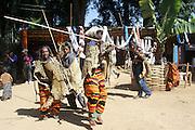 Africa, Ethiopia, Omo region, Chencha village, Dorze tribe tribal dance