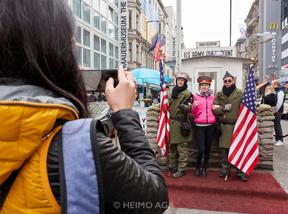 Berlin, ITB 2018. Checkpoint Charlie.