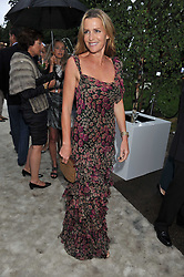 INDIA HICKS at the annual Serpentine Gallery Summer Party sponsored by Burberry held at the Serpentine Gallery, Kensington Gardens, London on 28th June 2011.