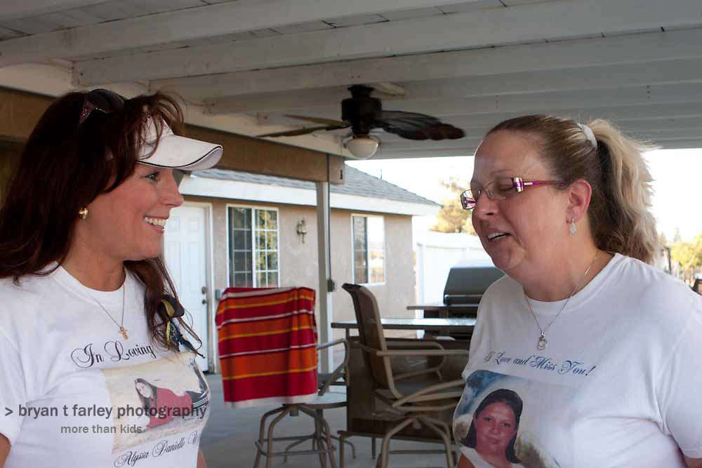 Mary Sappington recently joined the Mother of an Angel Friendship Network. When Mary's daughter Kimberly Hamilton, a student at Clovis East High School died, Martha Tessmer had not started the grief support organization.