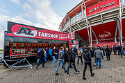 ALKMAAR - 22-04-2017, AZ - FC Twente, AFAS Stadion, fanshop