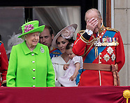"Prince George's Awkward ""Salute"" - Queen 90"