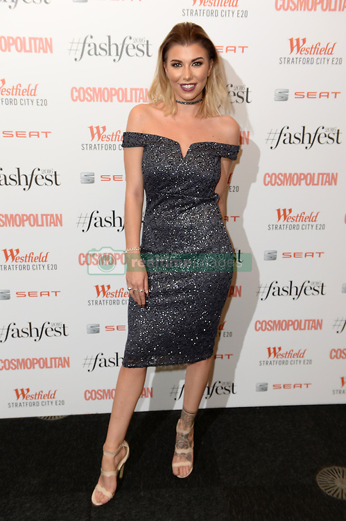 Olivia Buckland attending the Cosmopolitan FashFest 2016, Old Billingsgate Market, London. Picture credit should read: Doug Peters/EMPICS Entertainment
