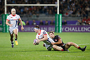 Ben Curry, James O'Connor to Same and Theo Belan to LOU during the European Rugby Challenge Cup, Pool 2, between Lyon OU and Sale Sharks on October 20, 2017 at Matmut stadium in Lyon, France - Photo Romain Biard / Isports / ProSportsImages / DPPI