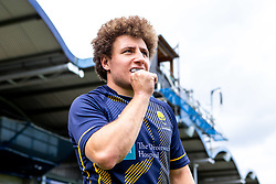 Duncan Weir of Worcester Warriors Opro gum shield - Mandatory by-line: Robbie Stephenson/JMP - 24/08/2020 - RUGBY - Sixways Stadium - Worcester, England - Worcester Warriors Sponsors 2020/21