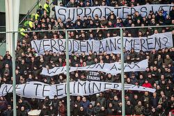 28-01-2018 NED: FC Utrecht - AFC Ajax, Utrecht<br /> Supporters van Ajax willen geen stadion verbod meer