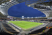 Hull City KCOM stadium before the EFL Sky Bet Championship match between Hull City and Millwall at the KCOM Stadium, Kingston upon Hull, England on 6 March 2018. Picture by Ian Lyall.