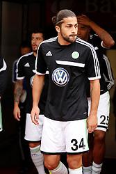14.09.2013, Bay Arena, Leverkusen, GER, 1. FBL, Bayer 04 Leverkusen vs VfL Wolfsburg, 5. Runde, im Bild Ricardo Rodriguez #34 (VFL Wolfsburg) // during the German Bundesliga 5th round match between Bayer 04 Leverkusen vs VfL Wolfsburg at the Bay Arena in Leverkusen, Germany on 2013/09/14. EXPA Pictures © 2013, PhotoCredit: EXPA/ Eibner/ Grimme<br /> <br /> ***** ATTENTION - OUT OF GER *****
