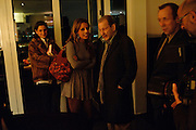 VICTORIA-ANNE BULL; LUCIAN FREUD; DAVID DAWSON, Launch of Nicky Haslam's book Redeeming Features. Aqua Nueva. 5th floor. 240 Regent St. London W1.  5 November 2009.  *** Local Caption *** -DO NOT ARCHIVE-© Copyright Photograph by Dafydd Jones. 248 Clapham Rd. London SW9 0PZ. Tel 0207 820 0771. www.dafjones.com.<br /> VICTORIA-ANNE BULL; LUCIAN FREUD; DAVID DAWSON, Launch of Nicky Haslam's book Redeeming Features. Aqua Nueva. 5th floor. 240 Regent St. London W1.  5 November 2009.