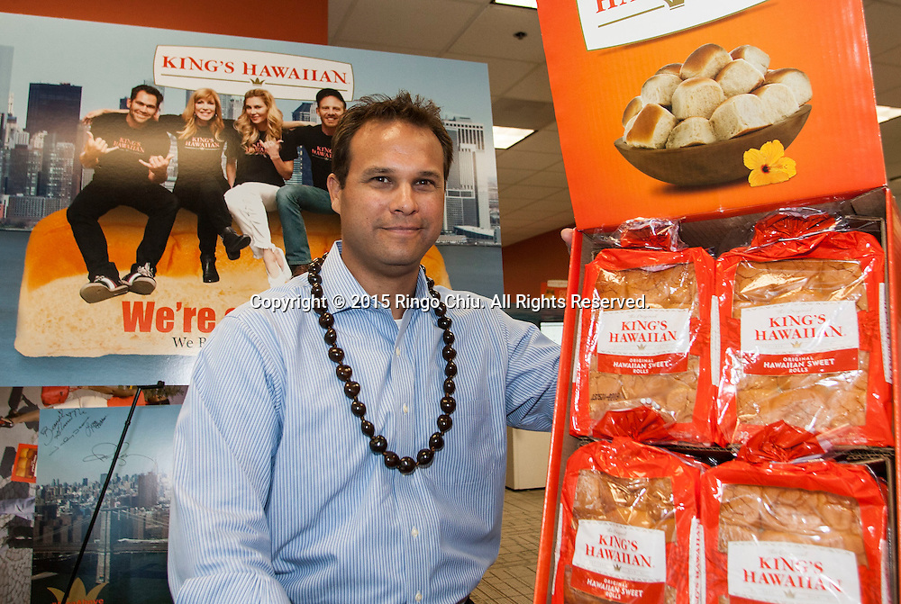 Erick Dickens, vice president, business development for King&rsquo;s Hawaiian.<br /> (Photo by Ringo Chiu/PHOTOFORMULA.com)