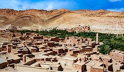 The mountain village of Assfalou near Ouarzazate, Morocco<br /> <br /> (c) Andrew Wilson | Edinburgh Elite media