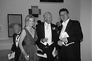 HILARY WESTON; GALEN WESTON; EWAN VENTERS, RA Annual dinner 2018. Piccadilly, 5 June 2018.