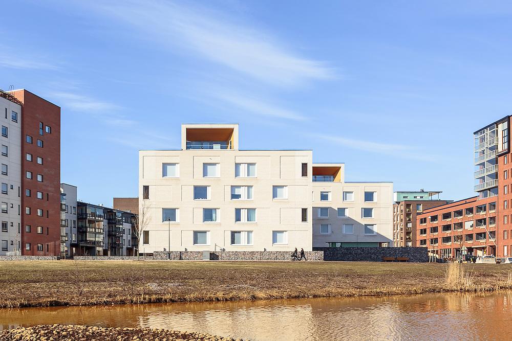 Kotisaarenkatu apartments in Helsinki, designed by Playa architects.