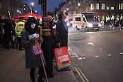 Anti-Trump demonstration. Westminster.  London. 20 February 2017