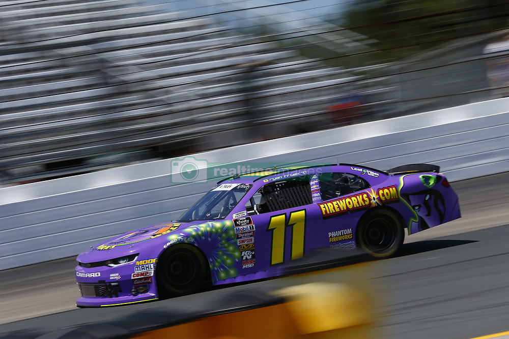 July 20, 2018 - Loudon, New Hampshire, United States of America - Ryan Truex (11) takes to the track to practice for the Lakes Region 200 at New Hampshire Motor Speedway in Loudon, New Hampshire. (Credit Image: © Justin R. Noe Asp Inc/ASP via ZUMA Wire)