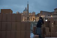 VATICAN CITY, VATICAN - APRIL 27: Nun in Saint Peter's Square on April 27, 2014 in Vatican City, Vatican. Canonization of Pope John Paul II and Pope John XXIII - Suora in piazza San Pietro in occasione della canonizzazione di Papa Giovanni XXIII e Papa Wojtyla.