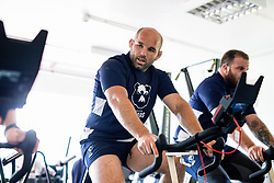 Shaun Malton in action during week 1 of Bristol Bears pre-season training ahead of the 19/20 Gallagher Premiership season - Rogan/JMP - 03/07/2019 - RUGBY UNION - Clifton Rugby Club - Bristol, England.