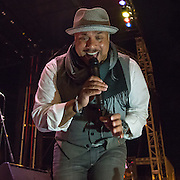 The legendary Howard Hewett making the crowd melt on a cold evening in NC.
