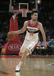 December 9, 2017 - Los Angeles, California, United States of America - Tomas Satoransky #31 of the Washington Wizards with the ball during their NBA game with the Los Angeles Clippers on Saturday December 9, 2017 at the Staples Center in Los Angeles, California. Clippers defeat Wizards, 113-112. JAVIER ROJAS/PI (Credit Image: © Prensa Internacional via ZUMA Wire)