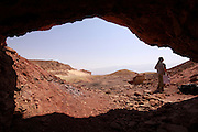 Israel, the copper mines at Timna park
