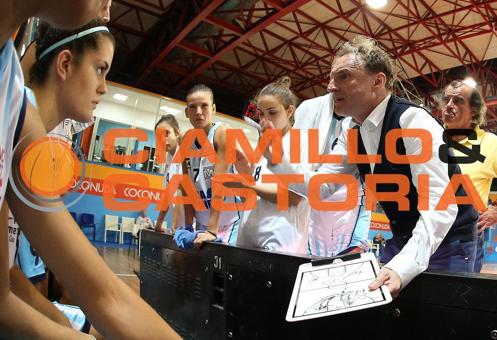 DESCRIZIONE : Napoli Lega A1 Femminile 2015-16 Opening Day 2015 Pallacanestro Umbertide Gesam Gas Lucca<br /> GIOCATORE : Mirko Diamanti<br /> SQUADRA : Pallacanestro Umbertide<br /> EVENTO : Campionato Lega A1 Femminile 2015-2016 <br /> GARA : Pallacanestro Umbertide Gesam Gas Lucca<br /> DATA : 04/10/2015<br /> CATEGORIA : coach<br /> SPORT : Pallacanestro <br /> AUTORE : Agenzia Ciamillo-Castoria/ElioCastoria<br /> Galleria : Lega Basket Femminile<br /> 2015-2016 <br /> Fotonotizia : Napoli Lega A1 Femminile 2015-16 Opening Day 2015 Pallacanestro Umbertide Gesam Gas Lucca