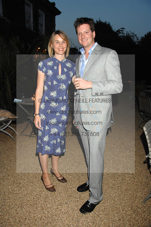 WILLIAM &amp; LAURA SITWELL at a party to celebrate the 100th issue of Waitrose's Food Illustrated magazine held at The Physic Garden, Chelsea, London on 13th September 2007.<br />