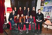 Les bénévoles du 12e Festival de Casteliers, marionnettes pour adultes et enfants - 2017 à  Theatre Outremont / Montreal / Canada / 2017-03-12, Photo © Marc Gibert / adecom.ca
