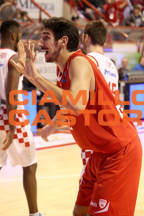 DESCRIZIONE : Campionato 2015/16 Giorgio Tesi Group Pistoia - Openjobmetis Varese<br /> GIOCATORE : Campani Luca<br /> CATEGORIA : Delusione<br /> SQUADRA : Openjobmetis Varese<br /> EVENTO : LegaBasket Serie A Beko 2015/2016<br /> GARA : Giorgio Tesi Group Pistoia - Openjobmetis Varese<br /> DATA : 13/12/2015<br /> SPORT : Pallacanestro <br /> AUTORE : Agenzia Ciamillo-Castoria/S.D'Errico<br /> Galleria : LegaBasket Serie A Beko 2015/2016<br /> Fotonotizia : Campionato 2015/16 Giorgio Tesi Group Pistoia - Openjobmetis Varese<br /> Predefinita :