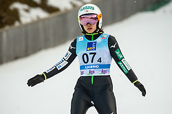 Sara Takanashi of Japan during Team Competition at Day 2 of World Cup Ski Jumping Ladies Ljubno 2019, on February 9, 2019 in Ljubno ob Savinji, Slovenia. Photo by Matic Ritonja / Sportida