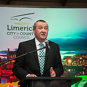 08/12/2015                <br /> Limerick City & County Council launches Ireland 2016 Centenary Programme<br /> <br /> An extensive programme of events across the seven programme strands of the Ireland 2016 Centenary Programme was launched at the Granary Library, Michael Street, Limerick, last night (Monday, 7 December 2015) by Cllr. Liam Galvin, Mayor of the City and County of Limerick.<br /> <br /> Led by Limerick City & County Council and under the guidance of the local 1916 Co-ordinator, the programme is the outcome of consultations with interested local groups, organisations and individuals who were invited to participate in the planning and implementation of events and initiatives during 2016.  <br /> <br /> Pictured at the event was Pat Dowling, Deputy CEO Limerick City and County Council. Picture: Alan Place