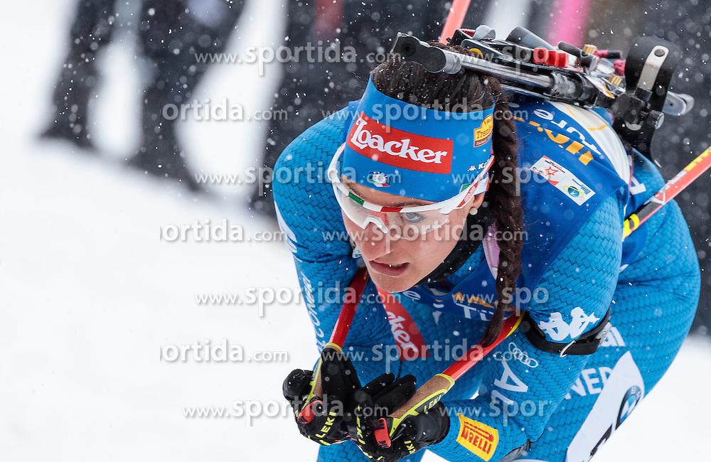 17.02.2017, Biathlonarena, Hochfilzen, AUT, IBU Weltmeisterschaften Biathlon, Hochfilzen 2017, Staffel Damen, im Bild Alexia Runggaldier (ITA) // Alexia Runggaldier of Italy // during Womens Relay of the IBU Biathlon World Championships at the Biathlonarena in Hochfilzen, Austria on 2017/02/17. EXPA Pictures © 2017, PhotoCredit: EXPA/ JFK