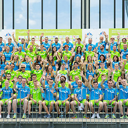 20150604: SLO, Olympic games - Team Slovenia for European Games in Baku