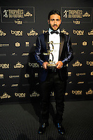Nabil FEKIR  - 17.05.2015 - Ceremonie des Trophees UNFP 2015<br />