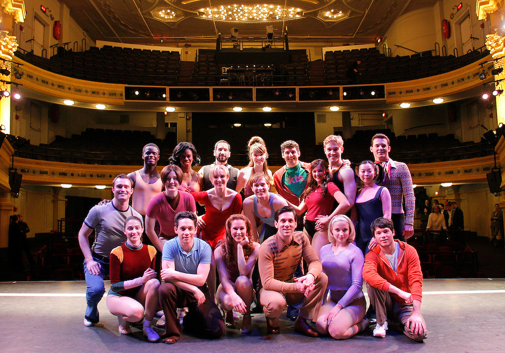 A Chorus Line.Press Event 4/26/06.Credit Photo: ©Paul Kolnik.NYC.212.362.7778.studio@paulkolnik.com...
