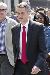 © Licensed to London News Pictures. 15/05/2019. London, UK. Former Defence Secretary Gavin Williamson leaves Parliament after Prime Minister's questions. Photo credit: Peter Macdiarmid/LNP