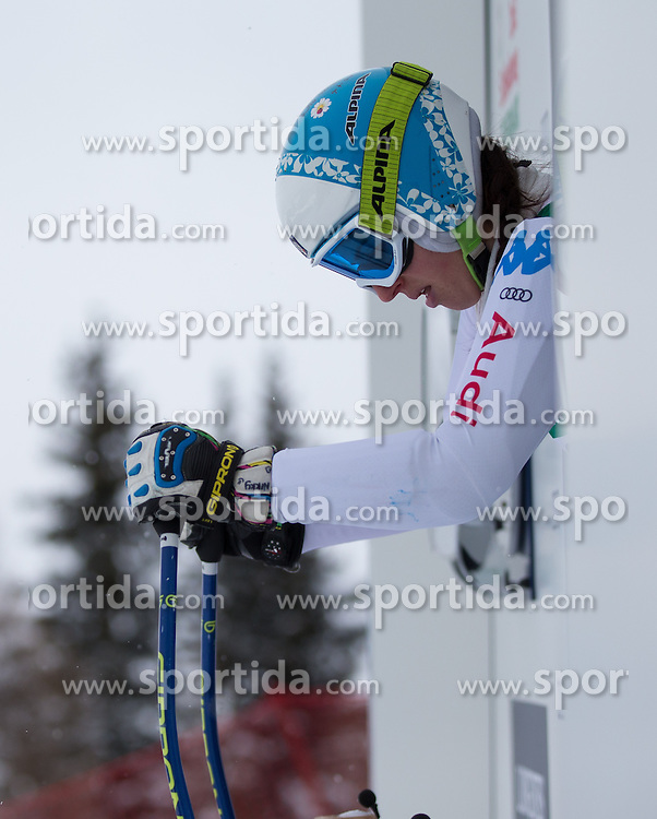 07.02.2013, Planai, Schladming, AUT, FIS Weltmeisterschaften Ski Alpin, 2. Training, Abfahrt, Damen, im Bild Nadia Fanchini (ITA) // Nadia Fanchini of Italy before 2nd practice of the ladies Downhill at the FIS Ski World Championships 2013 at the Planai Course, Schladming, Austria on 2013/02/07. EXPA Pictures © 2013, PhotoCredit: EXPA/ Johann Groder