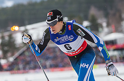 19.02.2015, Lugnet Ski Stadium, Falun, SWE, FIS Weltmeisterschaften Ski Nordisch, Langlauf, Damen, Sprint, im Bild Matias Strandvall (FIN) // during the Cross Country Ladies Sprint of the FIS Nordic Ski World Championships 2015 at the Lugnet Ski Stadium, Falun, Sweden on 2015/02/19. EXPA Pictures © 2015, PhotoCredit: EXPA/ JFK
