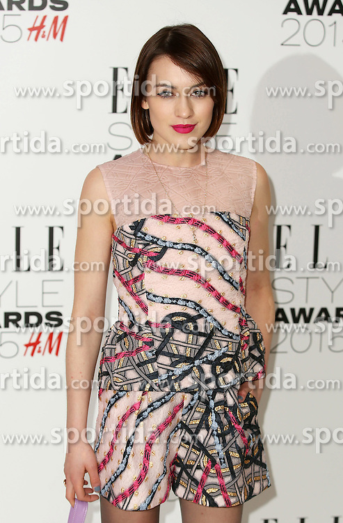 Ella Catliff attends the Elle Style Awards 2015 at Sky Garden @ The Walkie Talkie Tower on February 24, 2015 in London, England. EXPA Pictures &copy; 2015, PhotoCredit: EXPA/ Photoshot/ James Shaw<br /> <br /> *****ATTENTION - for AUT, SLO, CRO, SRB, BIH, MAZ only*****