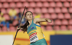 July 10, 2018 - Tampere, Suomi Finland - 180710 Friidrott, Junior-VM, Dag 1: Alexandra Roberts AUS competes in Javelin Throw during the IAAF World U20 Championships day 1 at the Ratina stadion 10. July 2018 in Tampere, Finland. (Newspix24/Kalle Parkkinen) (Credit Image: © Kalle Parkkinen/Bildbyran via ZUMA Press)