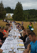 Outstanding in the Field at Big Table Farm, Willamette Valley, Oregon