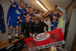 Cove Rangers have become the SPFL's newest side and ended Berwick Rangers' 68-year stay in Scotland's senior leagues by earning a League Two place. Berwick Rangers 0 v 3 Cove Rangers, League Two Play-Off Second Leg played 18/5/2019 at Berwick Rangers Stadium Shielfield Park.