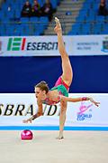 Gamalejeva Jelizaveta is a Latvian rhythmic gymnastics athlete born in Riga in 1994.