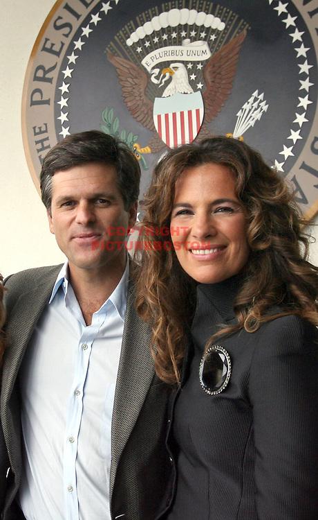 (09/13/08-Boston,MA)] Timothy Shriver escorts Roberta Armani, niece of designer Giorgio Armani and PR director worldwide of Armani. Staff photo by Mark Garfinkel
