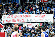DESCRIZIONE : Pesaro Lega A 2011-12 Scavolini Siviglia Pesaro Bennet Cantu<br /> GIOCATORE : tifosi<br /> CATEGORIA : supporters curva<br /> SQUADRA : Scavolini Siviglia Pesaro Bennet Cantu<br /> EVENTO : Campionato Lega A 2011-2012<br /> GARA : Scavolini Siviglia Pesaro Bennet Cantu<br /> DATA : 21/03/2012<br /> SPORT : Pallacanestro<br /> AUTORE : Agenzia Ciamillo-Castoria/C.De Massis<br /> Galleria : Lega Basket A 2011-2012<br /> Fotonotizia : Pesaro Lega A 2011-12 Scavolini Siviglia Pesaro Bennet Cantu<br /> Predefinita :