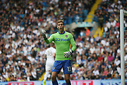 Leeds United goalkeeper Felix Wiedwald (13) during the EFL Sky Bet Championship match between Leeds United and Burton Albion at Elland Road, Leeds, England on 9 September 2017. Photo by John Potts.