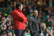 Celtic boss Brendan Rogers - Celtic v Dundee in the Ladbrokes Scottish Premiership at Celtic Park, Glasgow. Photo: David Young<br /> <br />  - © David Young - www.davidyoungphoto.co.uk - email: davidyoungphoto@gmail.com