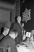 1963 - Brittain Dublin Ltd. Golden Jubilee reception and Dinner at the Hibernian Hotel